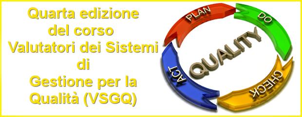 Corso Valutatori Sistemi Qualità